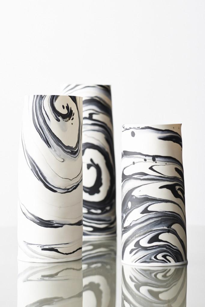 Porcelain Vases by Lisa Firer www.lisafirer.co.za