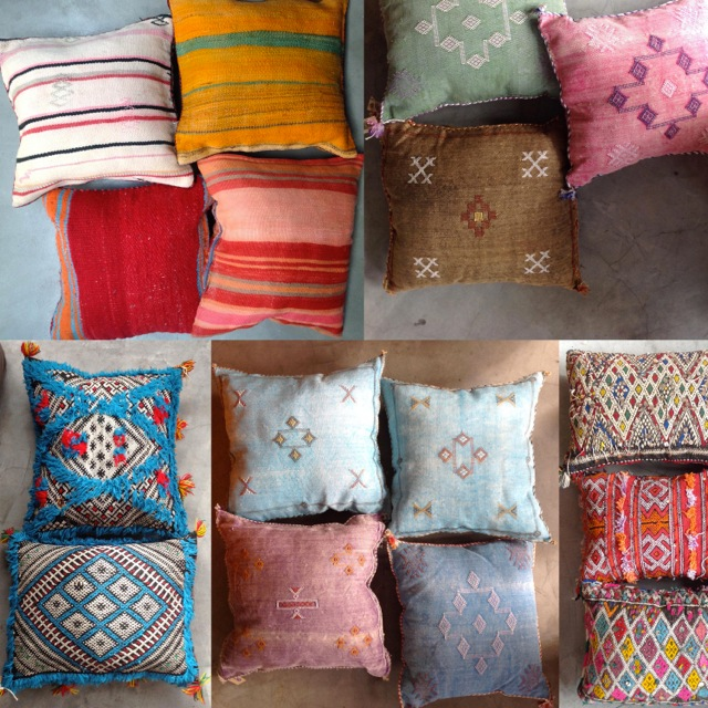 Kelim Cushion selection