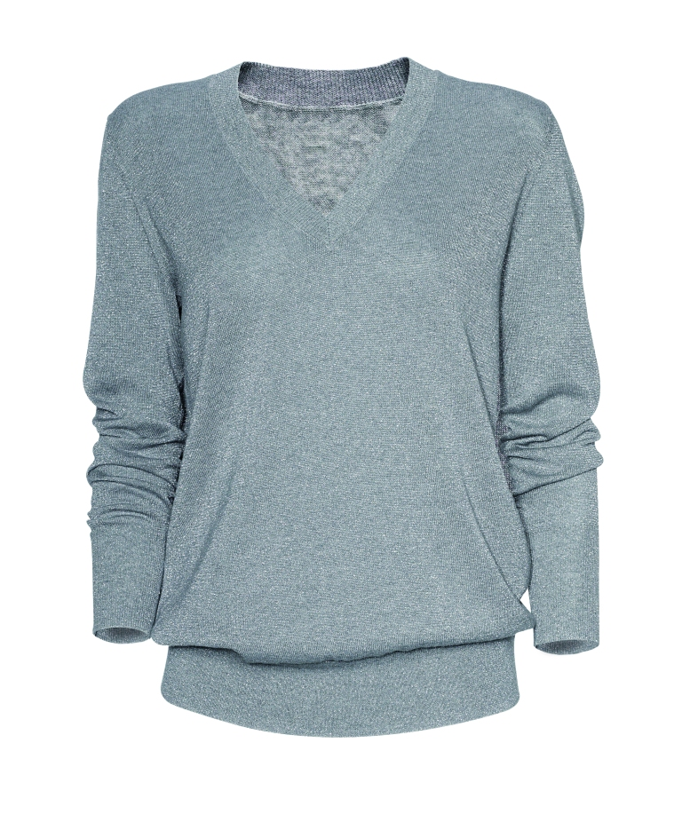 Gap Lurex plaied top R699.95