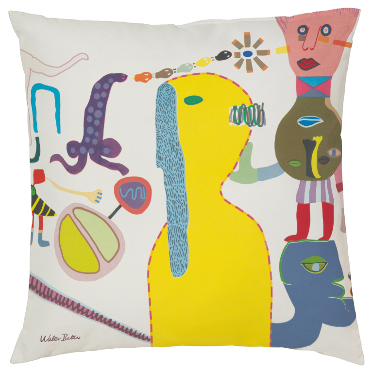 Walter Battiss Spring Morning cushion