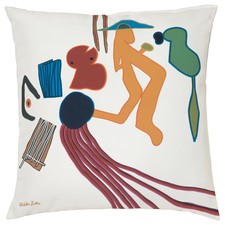 Walter Battiss Stream cushion