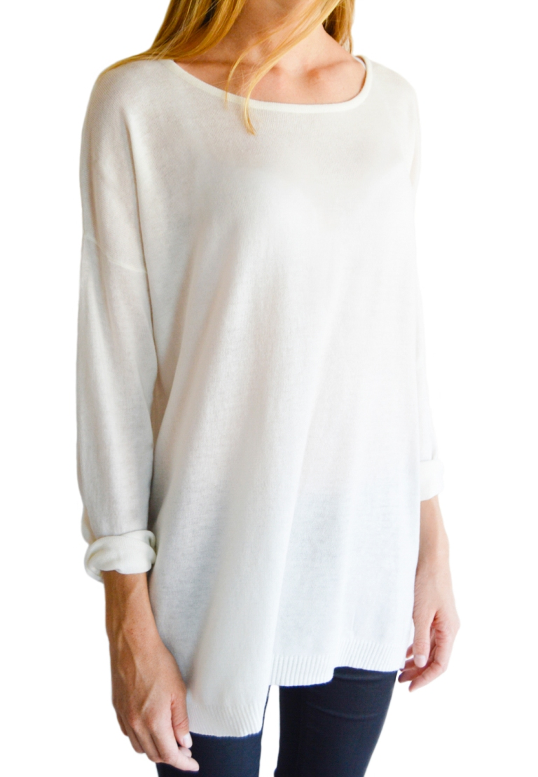 Angora jersey - Cream