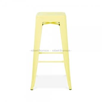Tolix-Stool-Pastel-Lemon