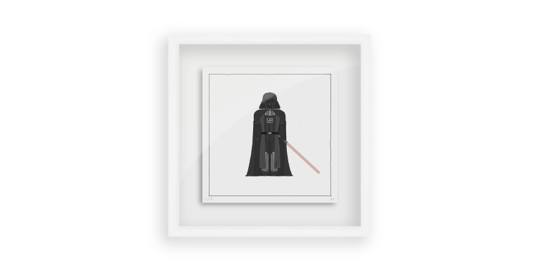 Star Wars Darth Vader - Persona Art Project (Ant Vervoort Hand Drawing)