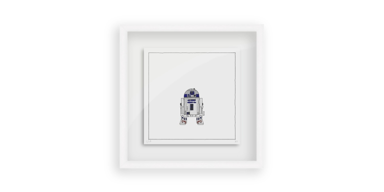 Star Wars R2D2 - Persona Art Project (Ant Vervoort Hand Drawing)