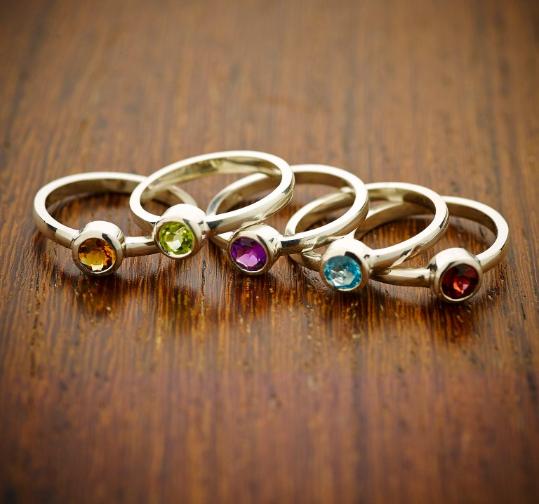 Wood - small pile of rings