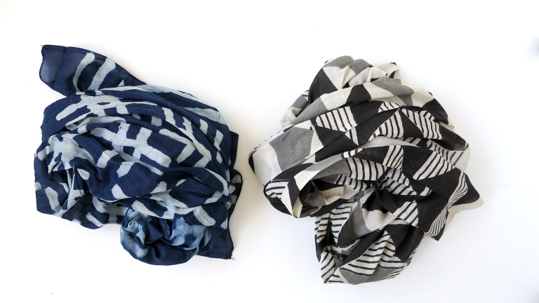 Two scarves 02