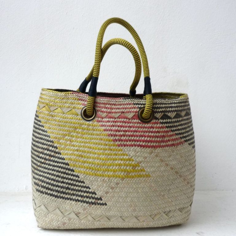 BASK603-Jenny-shopper-yellow