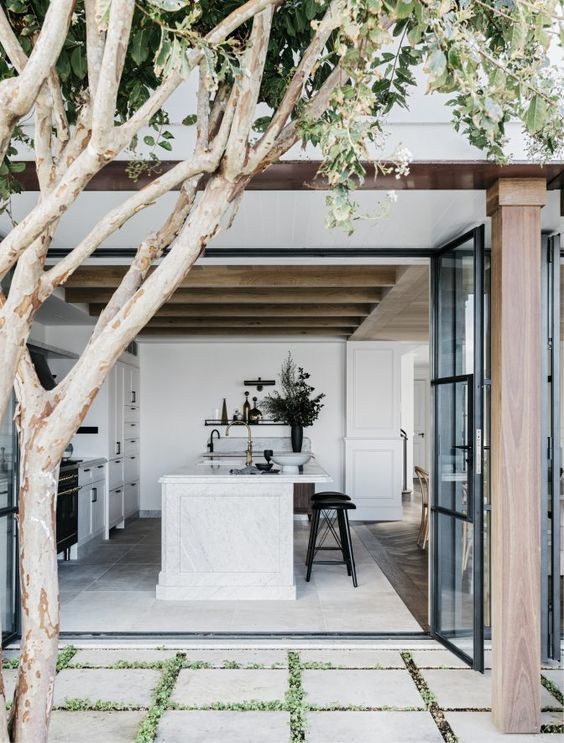 Sliding Doors Or French Doors Allow You To Extend Your Living Room Outdoors  U2013 And Connect You To Your Outdoor Entertainment Space. Itu0027ll Make Your Home  Feel ...